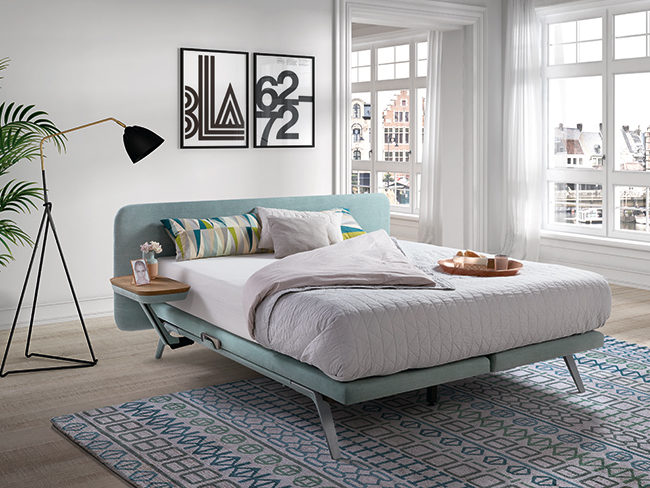 Bed Finesse blauw