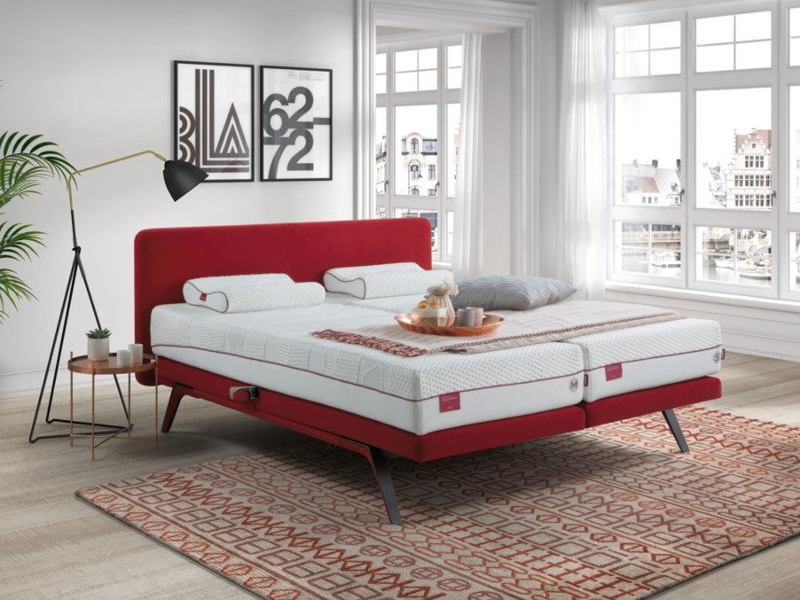 Bed Finesse rood